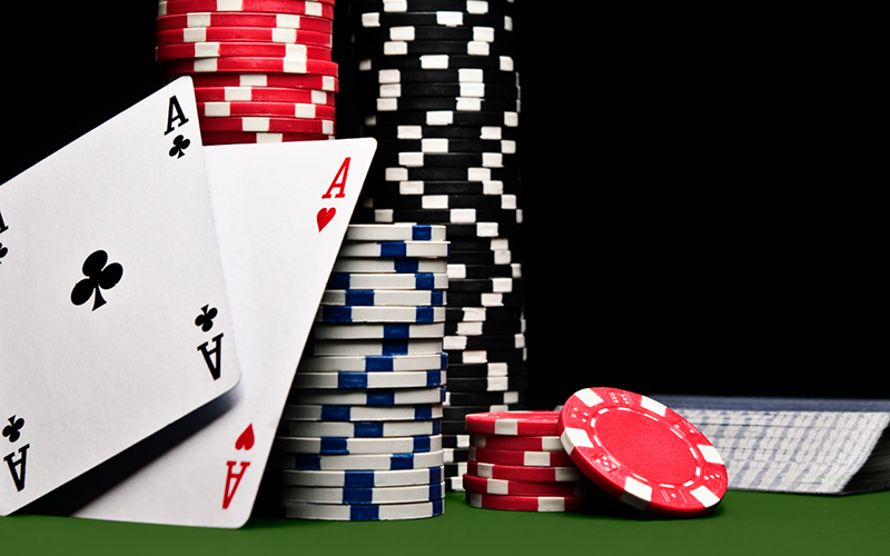 Get the gambling on your hands with online space
